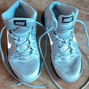 Other - Gray and black 3.5 us Nike mid top sneakers